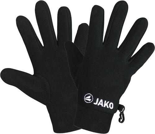 JAKO 1230 Handschoenen fleece - Zwart - 10