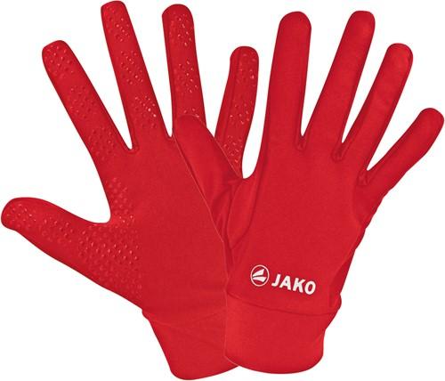 JAKO 1231 Spelershandschoenen functioneel - Rood - 4