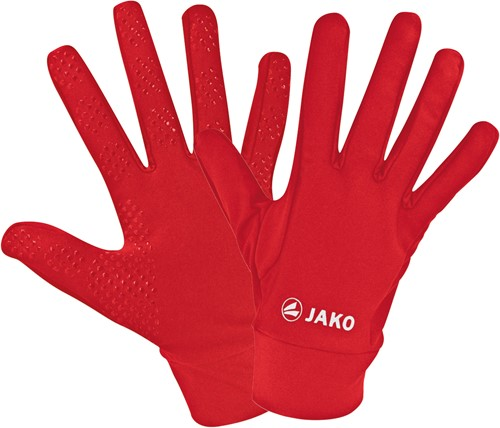 JAKO 1231 Spelershandschoenen functioneel - Rood - 10