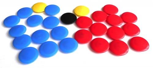 JAKO 2160 Reserve magneten voor het tactiekbord